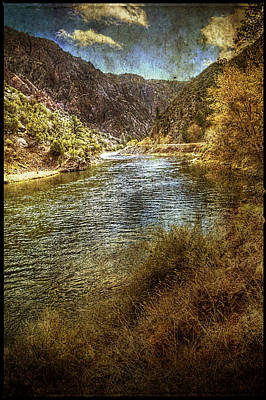 Photograph - Gunnison River At Black Canyon Of The Gunnison National Park by Roger Passman