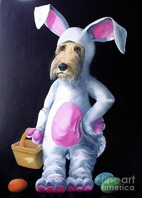 Painting - Gunther's Easter Parade by Diane Daigle