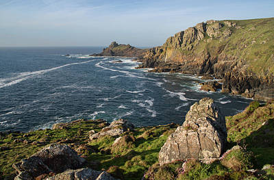 Photograph - Gurnards Head In Cornwall by Pete Hemington