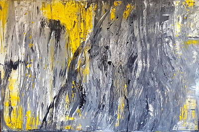 Laguna Beach Painting - Gusto by Tanya Lozano Abstract Expressionism