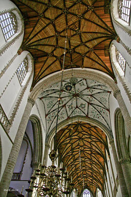 Photograph - Haarlem Church by Mark Alesse