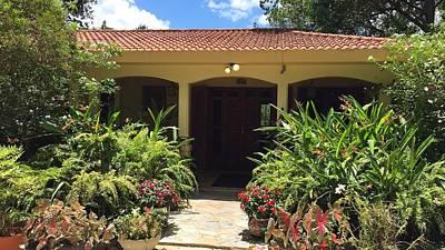 Photograph - Hacienda Luis by Walter Rivera Santos