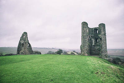 Essex Wall Art - Photograph - Hadleigh Castle by Martin Newman