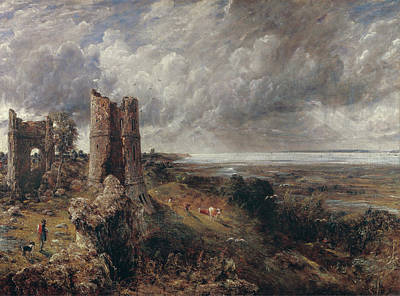Cow Painting - Hadleigh Castle, The Mouth Of The Thames by John Constable