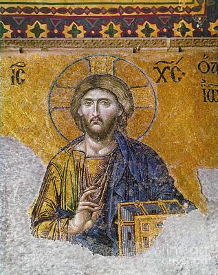 Hagia Sophia: Mosaic Art Print by Granger