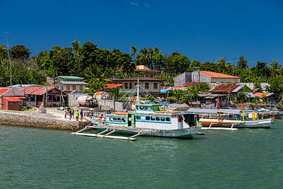 Photograph - Hagnaya's Port And Fishing Village by James BO Insogna