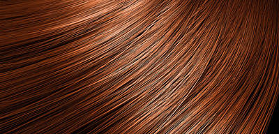 Hair Blowing Closeup Art Print by Allan Swart