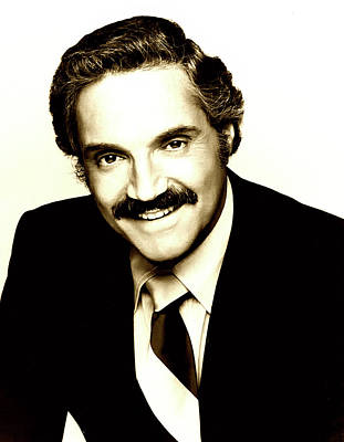 Photograph - Hal Linden 1980 by A B C