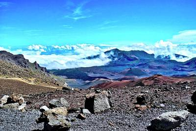 Photograph - Haleakala Crater  by Kirsten Giving