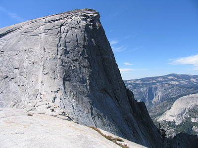 Half Dome Photograph - Half Dome by Mark Norman