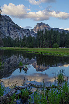 Photograph - Half Dome Reflection by Ken Dietz