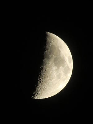 Photograph - Half Moon by Kyle West