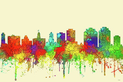 Digital Art - Halifax N.s.skyline by Marlene Watson