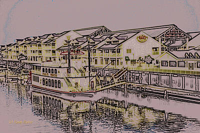 Photograph - Hamlins Landing by Randy Sylvia