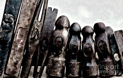 Photograph - Hammer Heads  by Wilma Birdwell