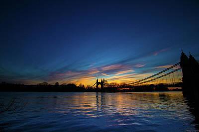 Photograph - Hammersmith Bridge London  by Mariusz Czajkowski