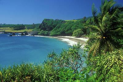 Photograph - Hamoa Beach Hana Maui by John Burk