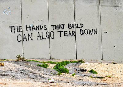 Photograph - Hands That Build by Munir Alawi