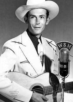 Hank Williams Art Print