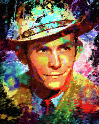 Painting - Hank Williams by Gary Grayson