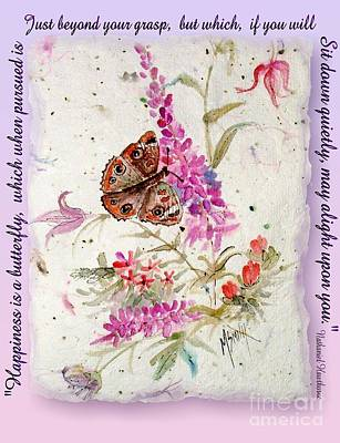 Digital Art - Happiness Is A Butterfly by Marilyn Smith