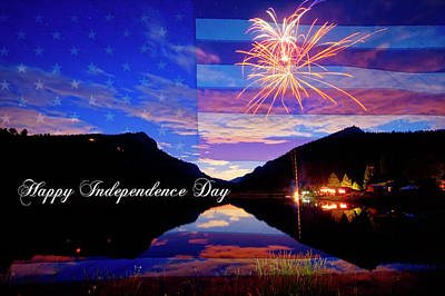 Bo Insogna Photograph - Happy Independence Day by James BO Insogna