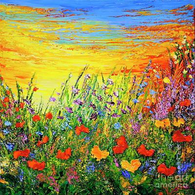 Painting - Happy by Teresa Wegrzyn