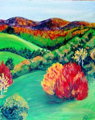 Painting - Happy Valley by Lyn Vic