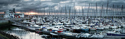 Photograph - Harbor Of Breskens by Daniel Heine