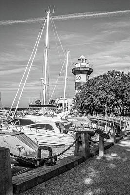 Photograph - Harbour Town Lighthouse by Randy Bayne