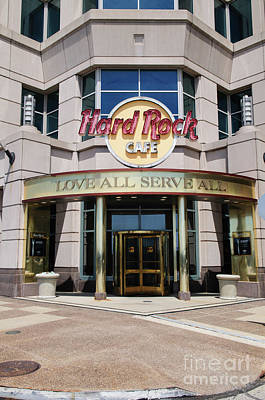 Photograph - Hard Rock Cafe by Ohio Stock Photography