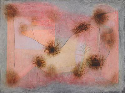 Painting - Hardy Plants by Paul Klee
