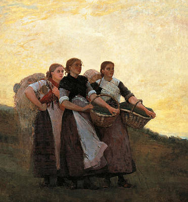 Hark  The Lark Art Print by Winslow Homer
