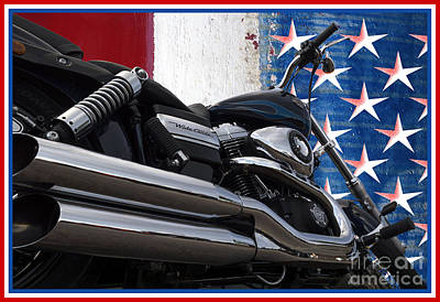 Photograph - Harley Davidson 5 by Wendy Wilton