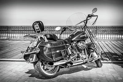 Photograph - Harley Davidson by Gary Gillette