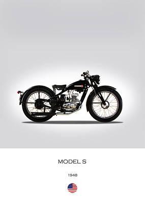 Harley Photograph - Harley Davidson Model S by Mark Rogan