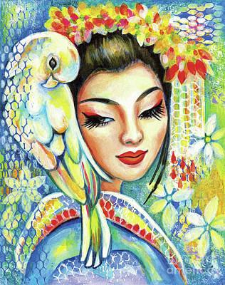 Painting - Harmony by Eva Campbell