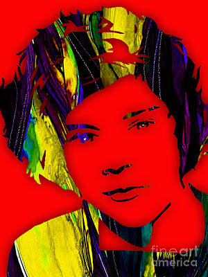 Music Mixed Media - Harry Styles Collection by Marvin Blaine