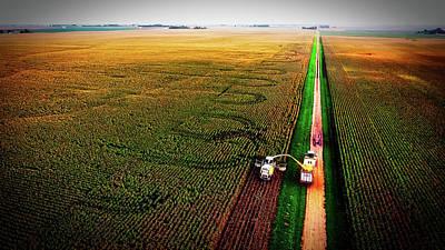 Photograph - Harvest Day Vista by Pixabay