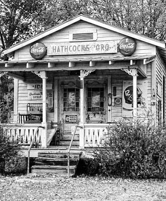 Hathcock's Grocery Art Print by Haley Edwards