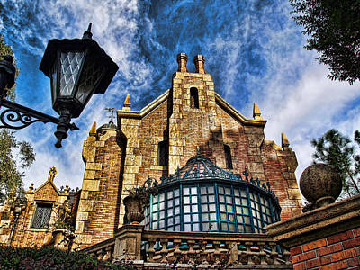 Photograph - Haunted Mansion by Nora Martinez