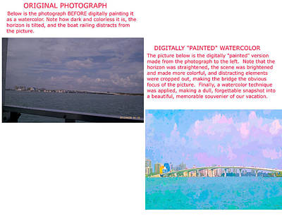 Photograph - Example 4 - Custom Photo Painting by Susan Molnar