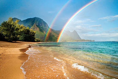 Hawaii Wall Art - Photograph - Hawaii Rainbow by Monica and Michael Sweet