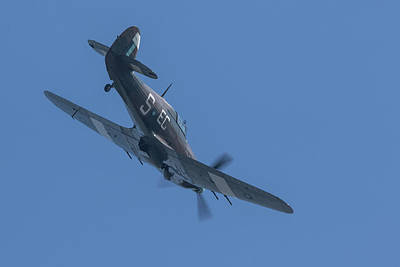 Katharine Hepburn - Hawker Hurricane PZ865 by Airpower Art