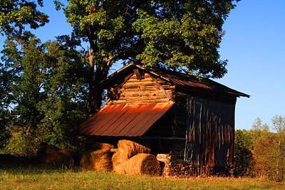 Photograph - Hay Barn by Kathryn Meyer