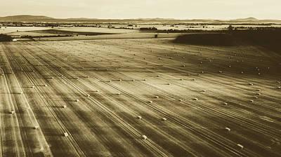 Photograph - Hay Field Vista by Unsplash