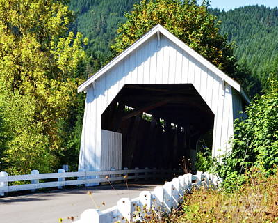 Photograph - Hayden Covered Bridge by Ansel Price