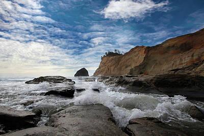 Photograph - Haystack Rock At Cape Kiwanda by David Gn