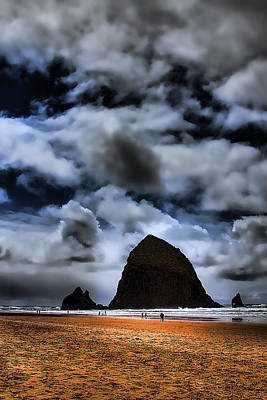 Photograph - Haystack Rock by David Patterson