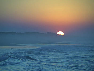 Photograph - Hazy Sunrise V by Newwwman